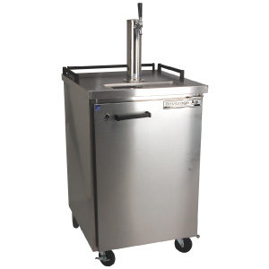 stainless kegerators