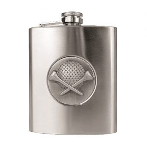 Stainless steel golf flask