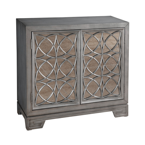 Awe Inspiring Modern Hand Burnished Silver Accent Bar Cabinet Uwap Interior Chair Design Uwaporg