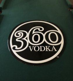Photo of 360 Vodka Tin Sign