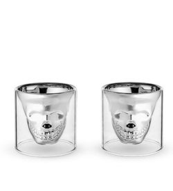Skull Shot Glass Set of Two