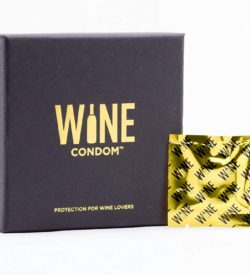 Wine Condoms individually wrapped wine rubber stopper photo