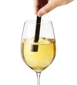Time & Oak Wine Elements in wine glass photo