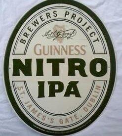 Photo of ArthGuinness Nitro IPA Tin Sign