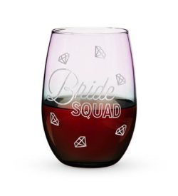 Photo of BRIDE SQUAD STEMLESS WINE GLASS
