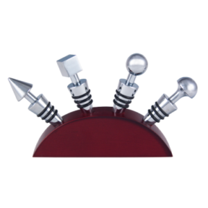 photo of Chrome Wine Stopper Set