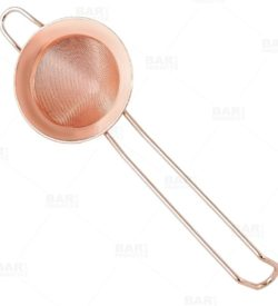 Photo of Fine Mesh Strainer - Copper Plated