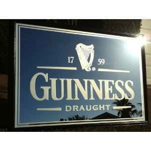 Photo Of Guiness Draught Mirror