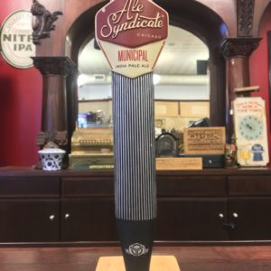 Photo Of Ale Syndicate Chicago Municipal IPA Tap Handle