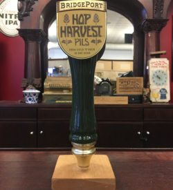 Photo Of Bridgeport Brewing Co' Hop Harvest Pils Tap Handle