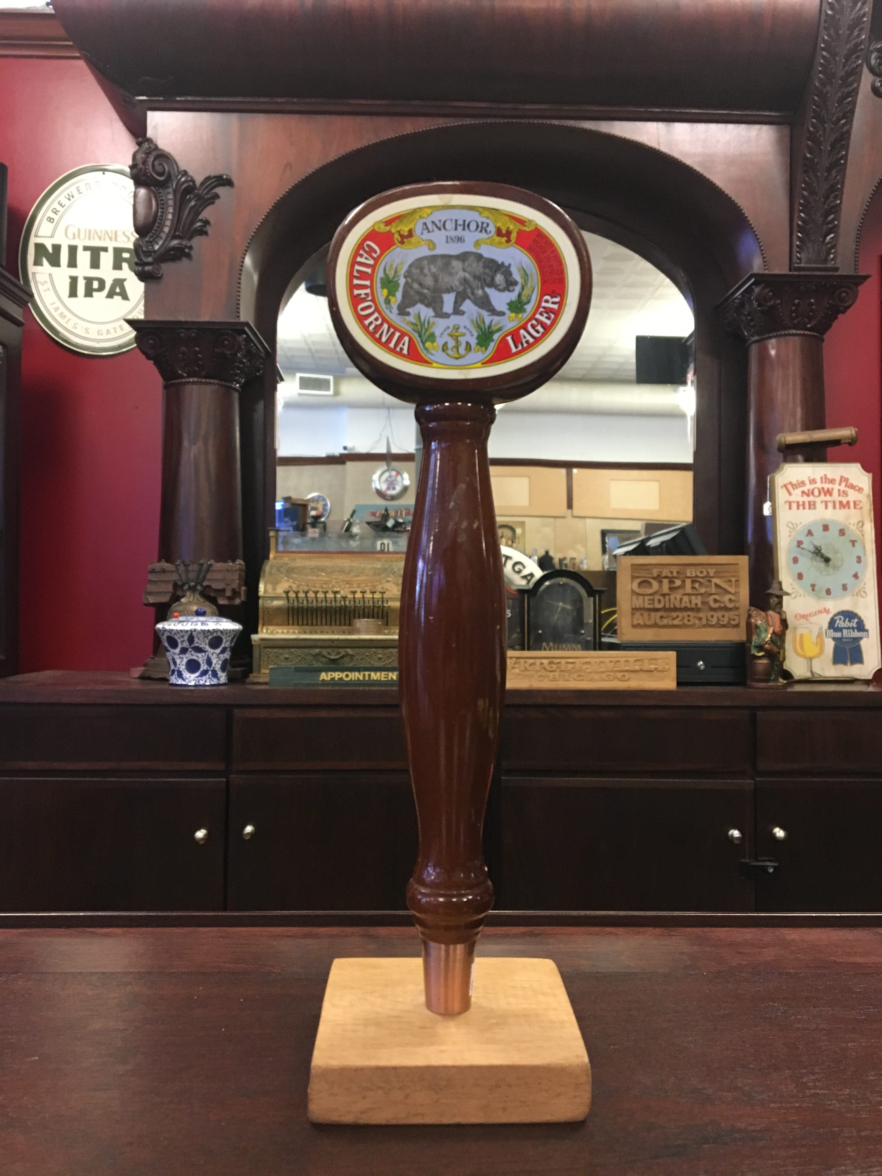 Photo Of Anchor Brewing Co' California Lager Tap Handle
