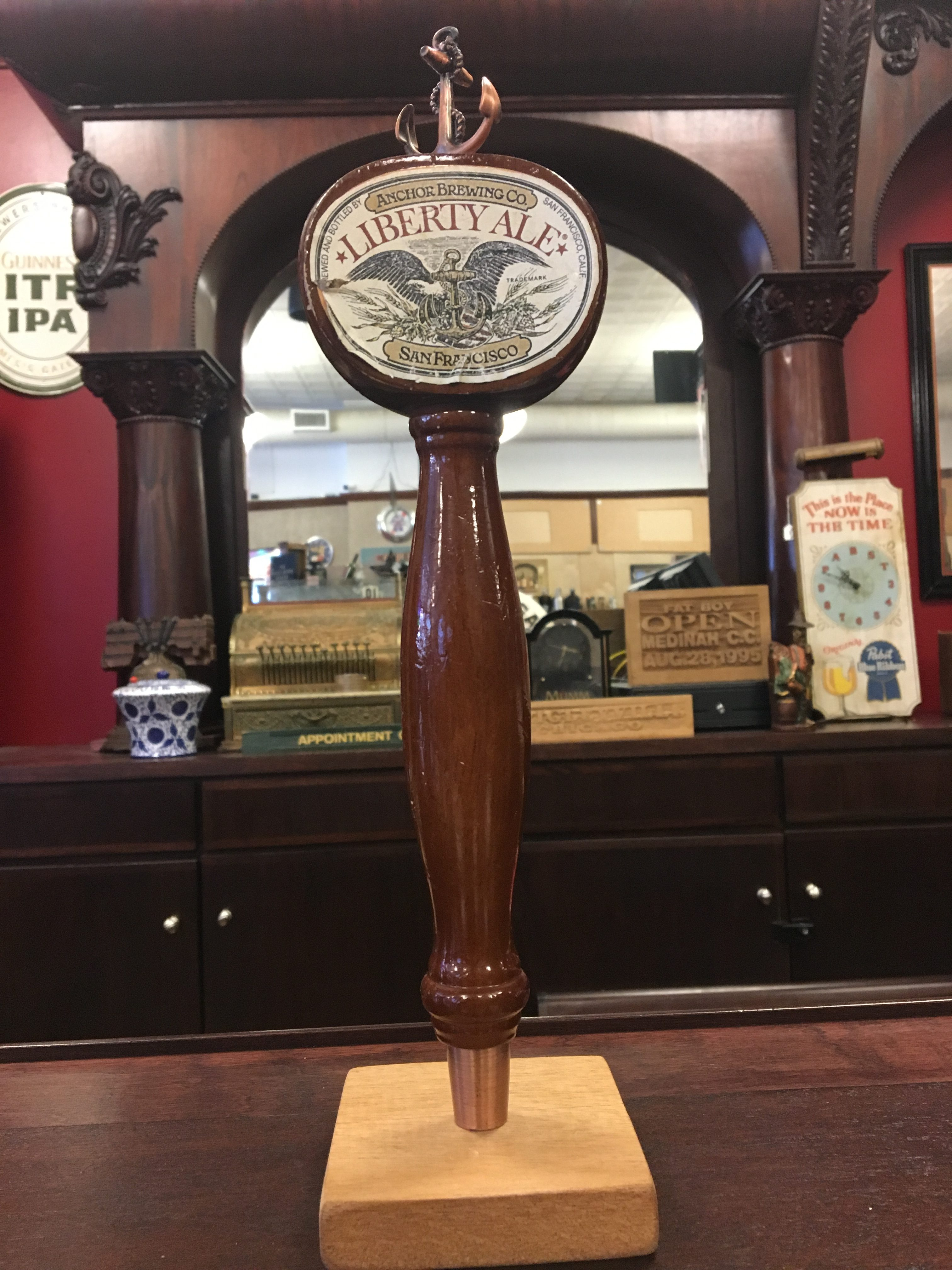 Photo Of Anchor Brewing Co' Liberty Ale Tap Handle