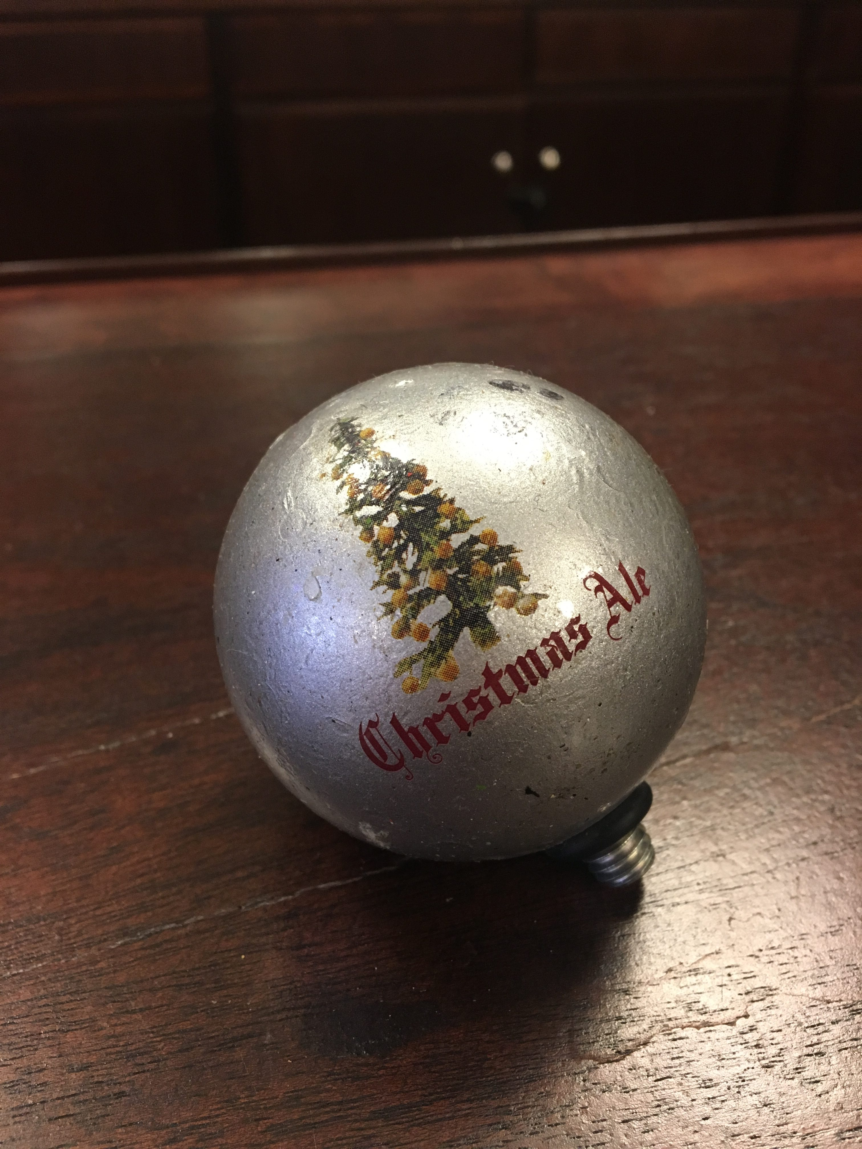 Photo Of Bell's Brewery Christmas Ale Tap Handle Topper