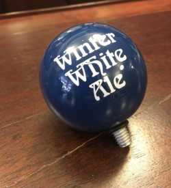 Photo Of Bell's Brewery Winter White Ale Tap Handle Top