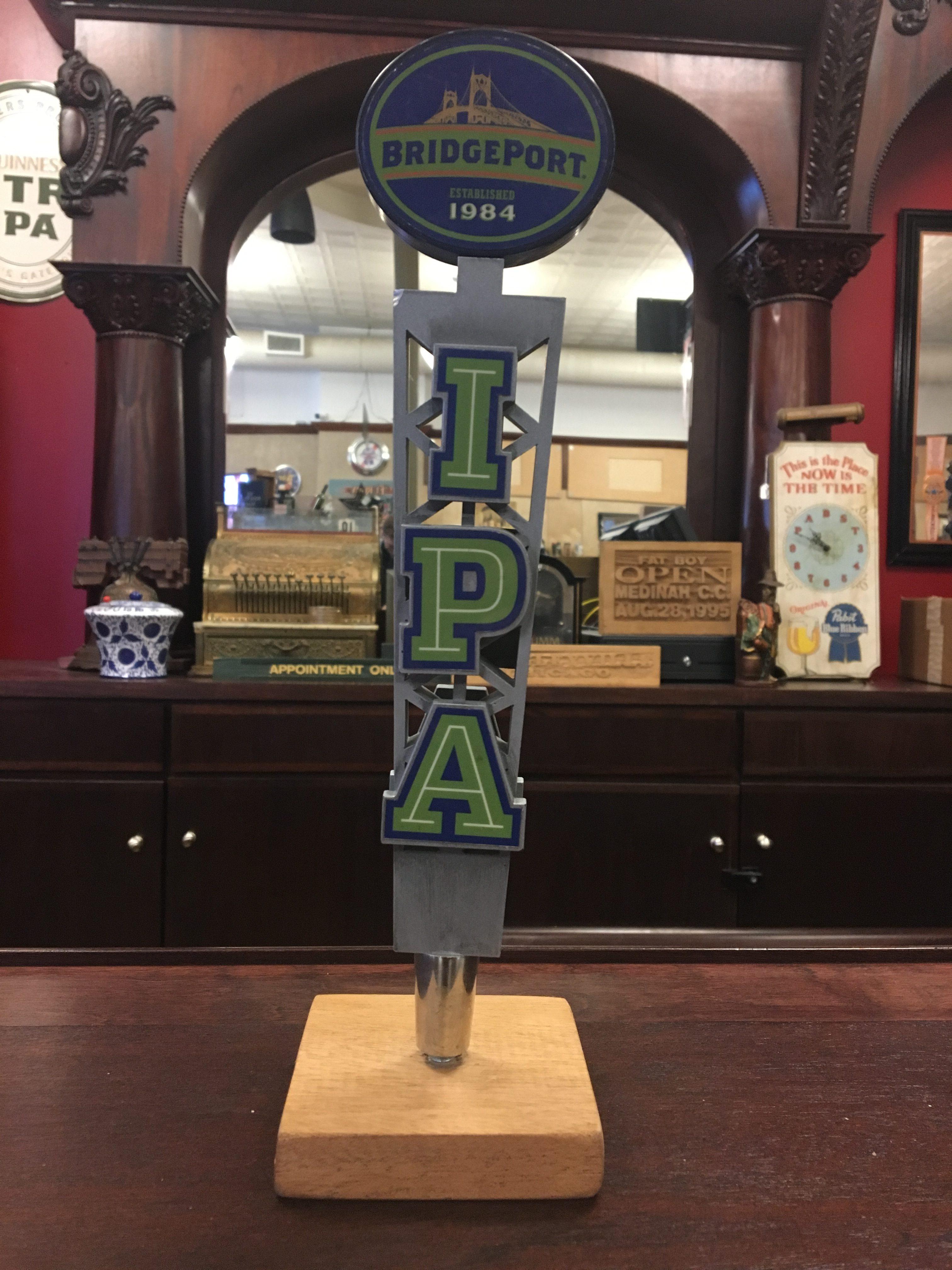 Photo Of Bridgeport Brewery IPA Tap Handle