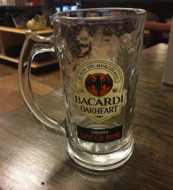 Bacardi Oakheart Smooth Spiced Rum Mugs