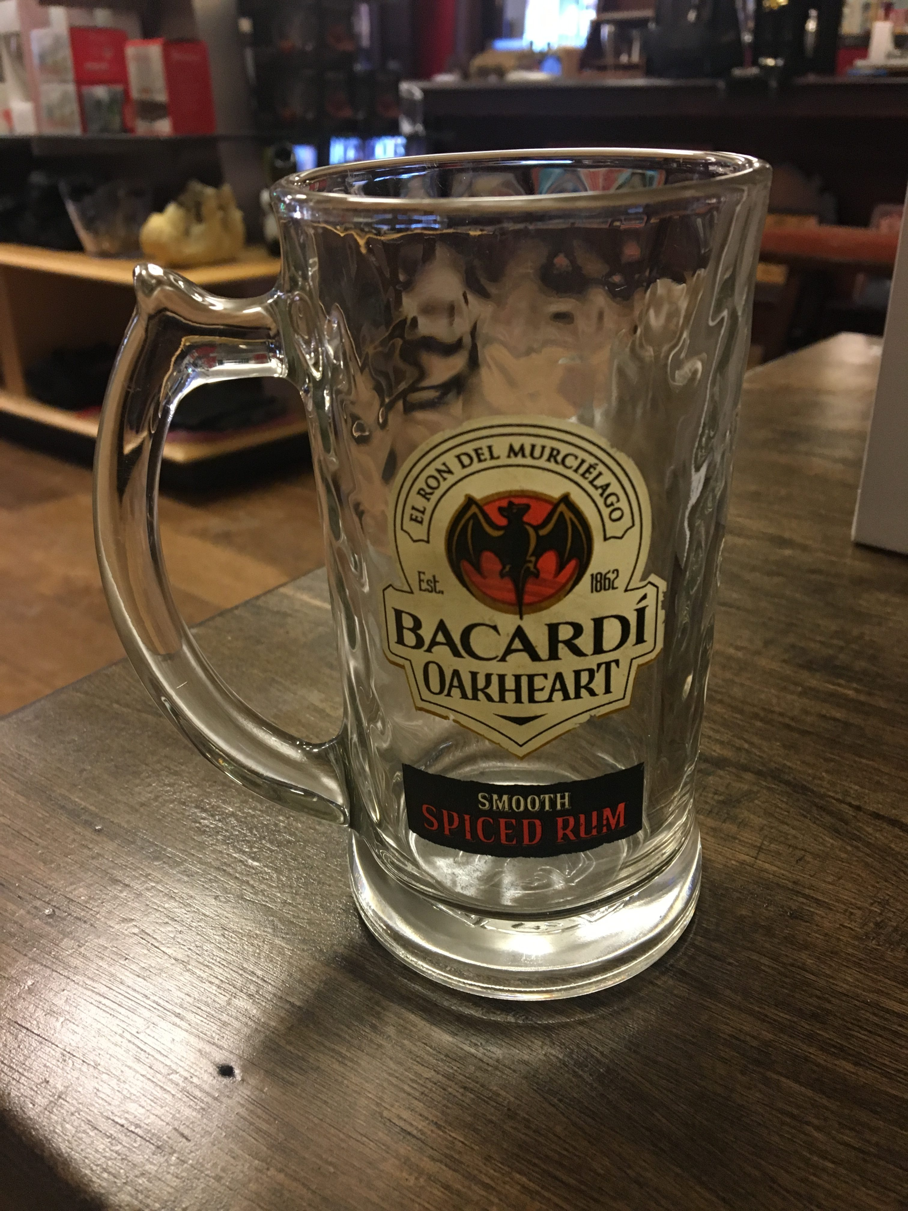 Bacardi Oakheart Smooth Spiced Rum Mugs