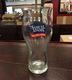 Photo Of Single Samuel Adams Boston Lager Glass