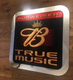 Photo of Budweiser True Music Vintage Mirror