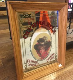 Photo of Olympia Brewing Co Vintage Bar Sign