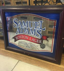 Photo Of Samuel Adams Boston Lager Vintage Bar Mirror