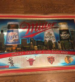 Photo of Miller Great Taste Of Chicago Vintage Bar Mirror