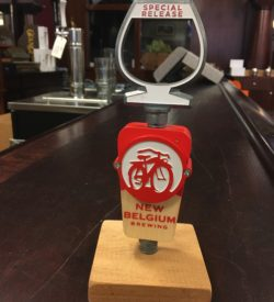 Photo of New Belgium Brewing Special Release Tap Handle