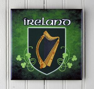 Photo Of Ireland Art Tile