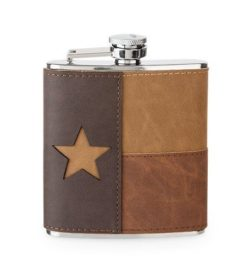 Photo of Leather Texas Flask