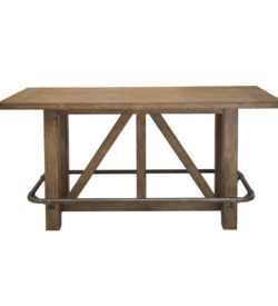 Photo of Lt Oak Bar Table - Top