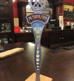 Photo of Metropolitan Brewing Heliostat Swickel Lager Tap Handle