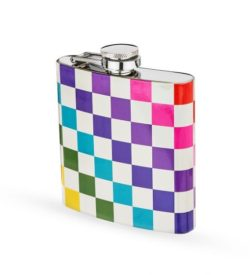 photo of Rainbow Checkered Flask
