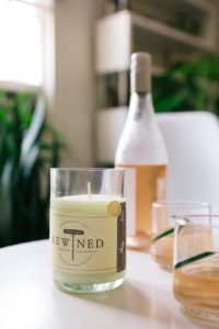 PHoto of ReWined Candle Rose