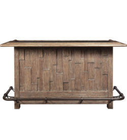 Photo of Rustic Plank Bar Front