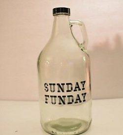Photo of Sunday Funday Glass Growler