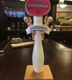 photo of Timmermans Framboise Lambic Tap Handle