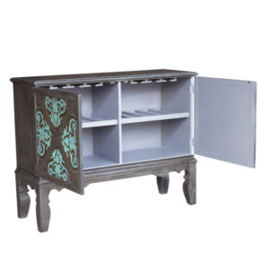 Photo of Two Door Accent Bar Cabinet