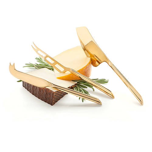 Photo of belmont gold plated knife set