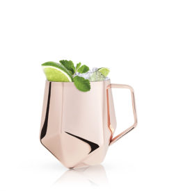 Photo of faceted moscow mule mug