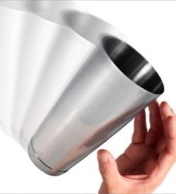 weighted flair shaker stainless 28 ounces