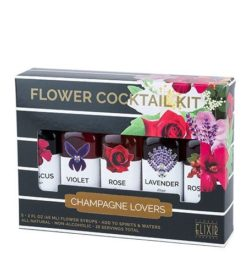 flower cocktail kit - champagne photo