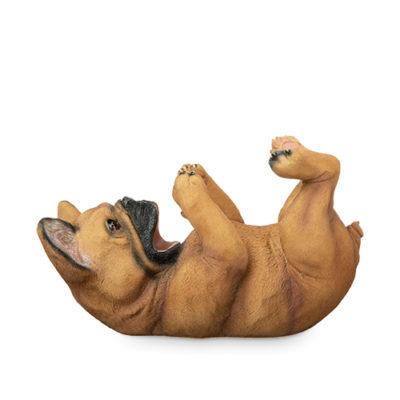 photo of french bulldog bottle holder