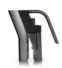 photo of gunmetal black heavyweight lever corkscrew