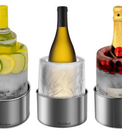 ice bottle chiller mold for wine vodka or champagne