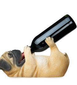 photo of pug bottle holder