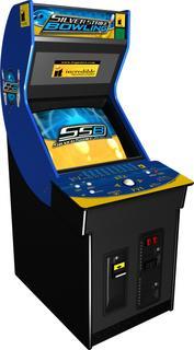 Photo Of silver strike arcade machine