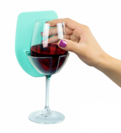 Photo of sipski shower wine holder