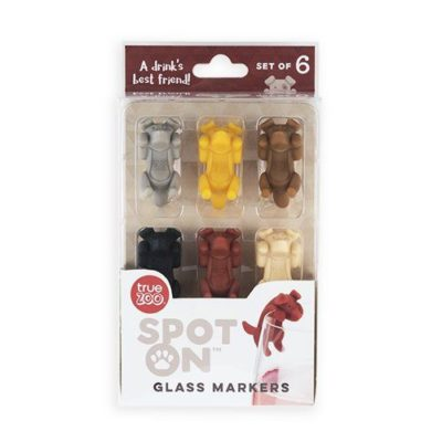 Photo of spot on glass markers in box