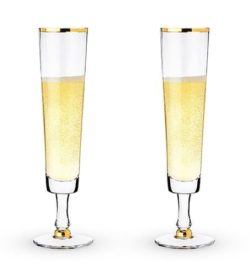 Photo of wedding champagne flutes